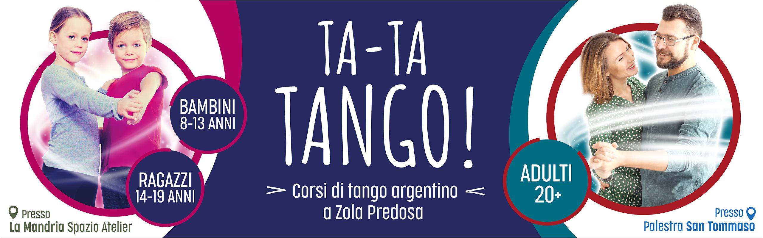 corsi di tango argentino a Zola Predosa (Bologna) per bambini, ragazzi e adulti